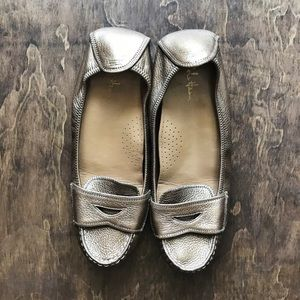 Cole Haan Metallic Loafers